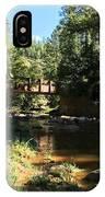 Webber Creek Bridge IPhone Case