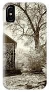 Weikert House At Gettysburg IPhone X Case