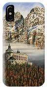 Werfen Austria Castle In The Clouds IPhone Case