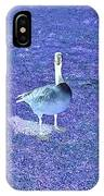 Where's Mine - The Blue Goose IPhone Case