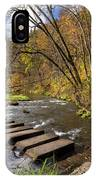 Whitewater River Scene 55 C IPhone Case