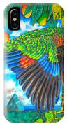 Wild Parrot IPhone Case