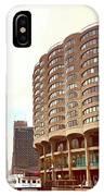 Willis Tower To The Left IPhone Case by Lorraine Devon Wilke