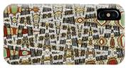 Wine Corks At An Angle Abstract IPhone Case