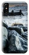 Winter By The Sea IPhone Case