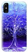 Winter Tree One IPhone Case