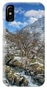 Winter Wonderland Snowdonia IPhone Case by Adrian Evans