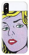 Woman With Man IPhone Case