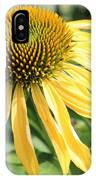 Yellow Cone Flower IPhone Case