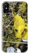 Yellow Enveloping White IPhone Case