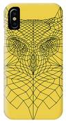 Yellow Owl IPhone Case