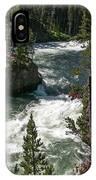 Yellowstone Rapids IPhone Case