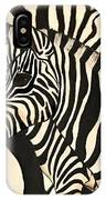 Z Is For Zebras IPhone X Case