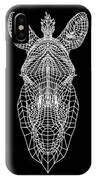 Zebra Mesh IPhone X Case