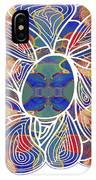 Zen Flower Abstract Meditation Digital Mixed Media Art By Omaste Witkowski IPhone Case by Omaste Witkowski