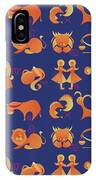 Zodiac Signs Set IPhone Case by Ariadna De Raadt