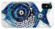 Enter The Icehole Fish IPhone Case