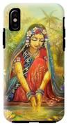 'gold' Radha IPhone X Tough Case