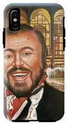 Pavarotti And The Ghost Of Lincoln Center IPhone X Tough Case