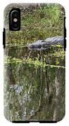 Alligator In Swamp IPhone X Tough Case