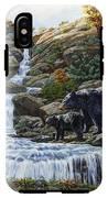 Black Bear Falls IPhone X Tough Case