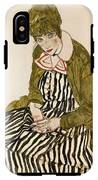 Edith With Striped Dress Sitting IPhone X Tough Case