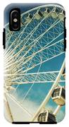 Ferris Wheel Retro IPhone X Tough Case