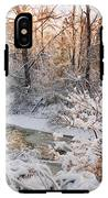 Forest Creek After Winter Storm IPhone X Tough Case