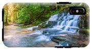 Forest Stream And Waterfall IPhone X Tough Case