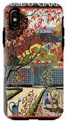House And Garden Fall Planting Number Cover IPhone X Tough Case