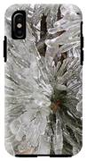 Ice On Pine Branches IPhone X Tough Case
