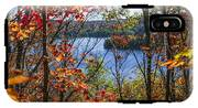 Lake And Fall Forest IPhone X Tough Case