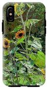 Sunflower Garden IPhone X Tough Case