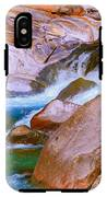 Vibrant Colored Rocks Verzasca Valley Switzerland IPhone X Tough Case