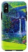Waimea Falls L  IPhone X Tough Case