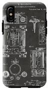 1889 First Computer Patent Gray IPhone X Tough Case