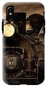 1909 Steam Engine 1909 IPhone X Tough Case