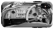 1925 Aston Martin 16 Valve Twin Cam Grand Prix Steering Wheel -0790bw IPhone X Tough Case