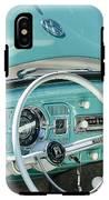 1962 Volkswagen Vw Beetle Cabriolet Steering Wheel IPhone X Tough Case