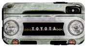 1969 Toyota Fj-40 Land Cruiser Grille Emblem -0444ac IPhone X Tough Case