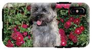 1990s Cairn Terrier Dog Standing IPhone X Tough Case