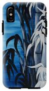 Blue Bamboo IPhone X Tough Case