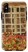 Farm Window IPhone X Tough Case