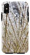 Ice On Branches IPhone X Tough Case