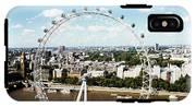 London Eye IPhone X Tough Case