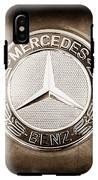 Mercedes-benz 6.3 Amg Gullwing Emblem IPhone X Tough Case