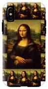 Mona Lisa IPhone X Tough Case