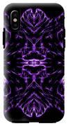 Purple Series 7 IPhone X Tough Case