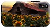Sunflower Farm IPhone X Tough Case