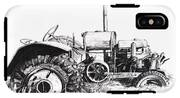 Tractor IPhone X Tough Case